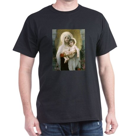 HOT! Madonna of the Roses Black T-Shirt