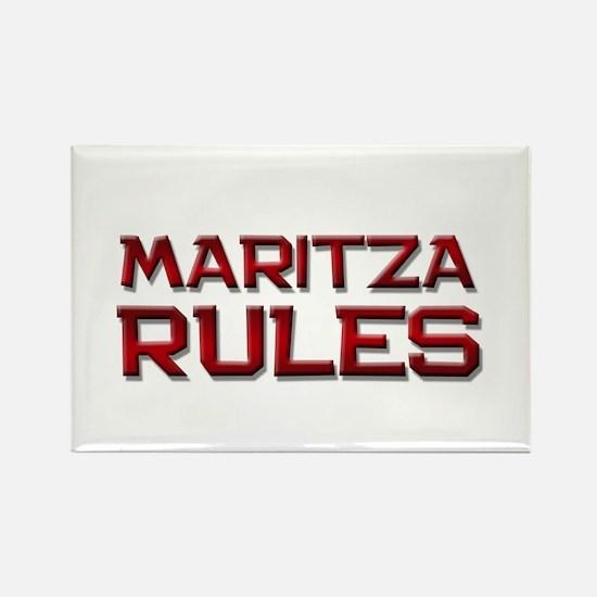 maritza rules Rectangle Magnet
