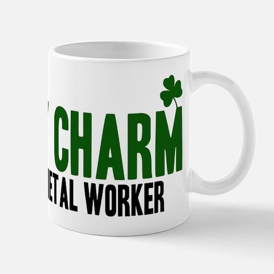 Sheet Metal Worker lucky char Mug