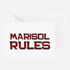 marisol rules Greeting Card