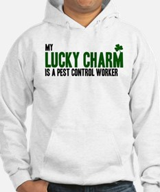 Pest Control Worker lucky cha Hoodie