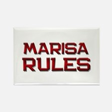 marisa rules Rectangle Magnet