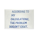 The problem doesn't exist Rectangle Magnet (100 pa