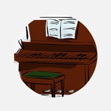 """PIANO (7) 3.5"""" Button (100 pack)"""