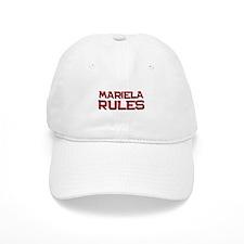mariela rules Baseball Cap