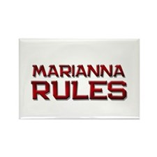 marianna rules Rectangle Magnet