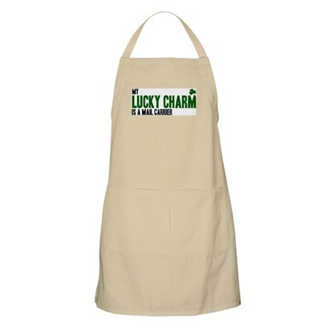 Mail Carrier lucky charm BBQ Apron