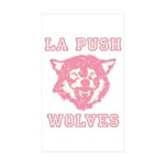 La Push Wolves Rectangle Sticker 50 pk)