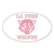 La Push Wolves Oval Sticker