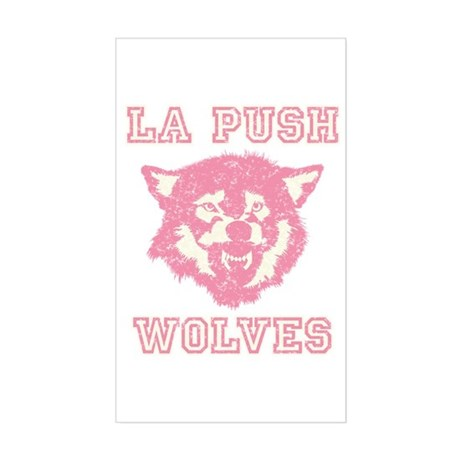 La Push Wolves Rectangle Sticker