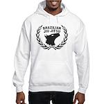 Brasilian Jiujitsu Eagle Crest Hooded Sweatshirt
