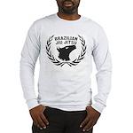 Brasilian Jiujitsu Eagle & Crest long shirt