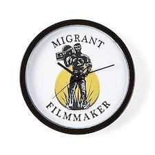 Migrant Filmmaker v.5 Wall Clock