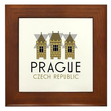 Prague Framed Tile