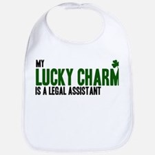 Legal Assistant lucky charm Bib