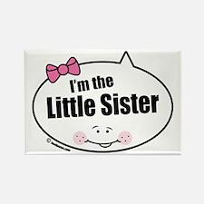 Little Sister Rectangle Magnet