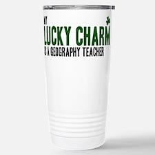 Geography Teacher lucky charm Travel Mug