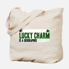 Geographer lucky charm Tote Bag