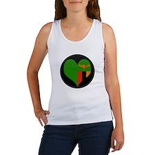 I love Zambia Flag Women's Tank Top
