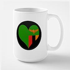 I love Zambia Flag Mug