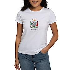 Zambian Coat of Arms Seal Tee