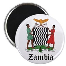 Zambian Coat of Arms Seal Magnet