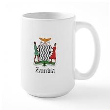 Zambian Coat of Arms Seal Mug