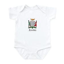 Zambian Coat of Arms Seal Infant Bodysuit