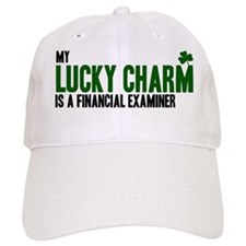 Financial Examiner lucky char Baseball Cap