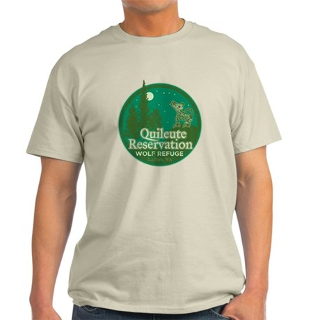Quileute Wolf Refuge Light T-Shirt