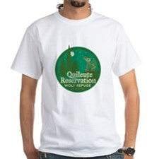 Quileute Wolf Refuge White T-Shirt