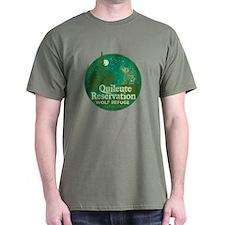 Quileute Wolf Refuge Dark T-Shirt