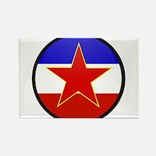Yugoslavia Rectangle Magnet
