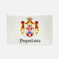 Yugoslavian Coat of Arms Seal Rectangle Magnet