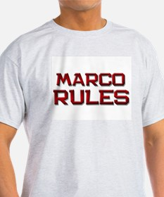 marco rules T-Shirt