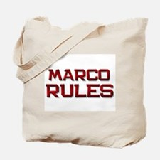 marco rules Tote Bag