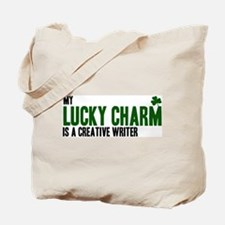 Creative Writer lucky charm Tote Bag