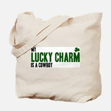 Cowboy lucky charm Tote Bag