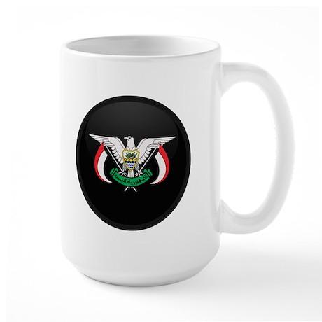 Coat of Arms of yemen Large Mug