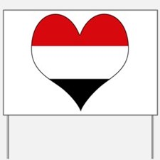 I Love yemen Yard Sign