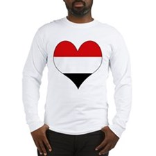 I Love yemen Long Sleeve T-Shirt