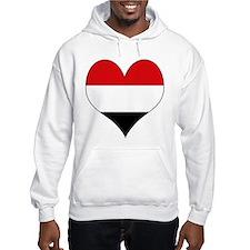 I Love yemen Hoodie