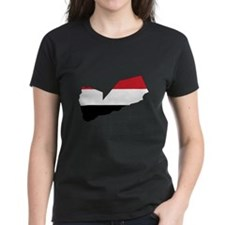 yemen Flag Map Tee