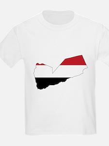 yemen Flag Map T-Shirt
