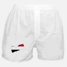 yemen Flag Map Boxer Shorts