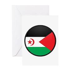 Western Sahara Greeting Card