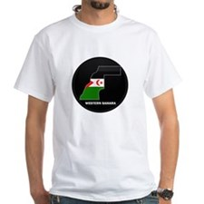 Flag Map of Western Sahara Shirt