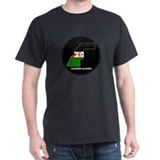 Flag Map of Western Sahara T-Shirt