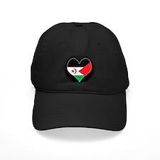 I love Western Sahara Flag Baseball Hat