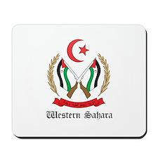 Sahrawi Coat of Arms Seal Mousepad